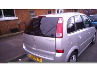 Full Years MOT Top spec 2005 Vauxhall Meriva for sale £1000 MAY SWAP