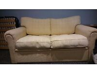 Double sofa bed - cream