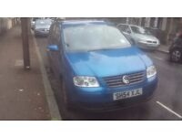 MUST GO BY MONDAY!!!!VW TOURAN 54 PETROL 1.6 110K