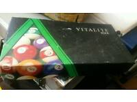 Vintage Vitalite Pool Ball Set 1