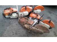 DEAD STIHL SAWS BOUGHT FOR CASH ts400 ts410 ts420 STHIL STILL SAW CHOP OFF PETEOL GRINDER