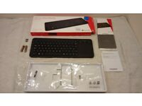 Microsoft All-in-One Media Wireless Keyboard.EXCELLENT CONDITION!