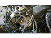 Yamaha Cygnus 125cc 2005 engine