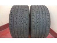 Porsche Rear Tyres. 2 New Radar Dimax Tyres 265 40 ZR 18 101Y. for sale