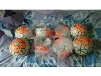 8 nike footballs job lot size 5