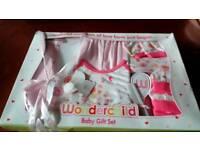 Brand new baby girl gift set 0-6 months