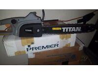 Titan Electric Chainsaw 2000 W
