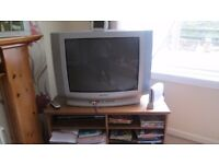 tv and a tv unit