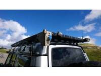 Patriot Land Rover Discovery 2 Full Length Black Anodized Roof Rack