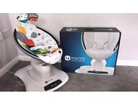 4 moms mamaRoo baby rocker used 3 times