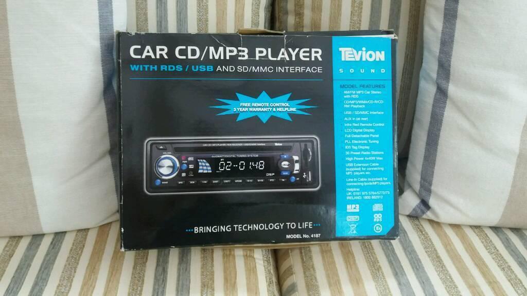 Car CD/MP3 Player.