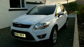 Ford Kuga 4x4 model diesel. 175bhp