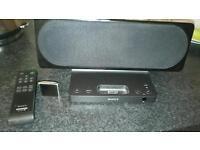 Ipod nano and Sony speakers