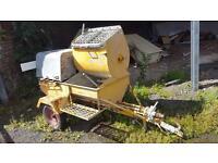 Concrete mixer/pump. Chimneys, floor screed etc
