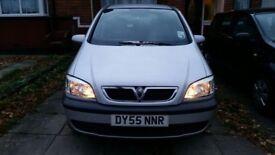 2005 Vauxhall Zafira,1.6 Petrol, Low Mileage, 12 MOT
