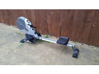 Mid-range home rowing machine in good condition - no real wear or tear