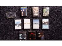 Job lot of Audio Cassettes / Tapes - Westlife, Point Break / Savage Garden / N-Sync, etc
