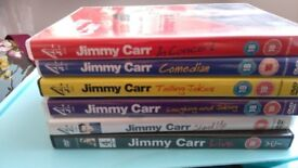 Jimmy Carr dvds for sale