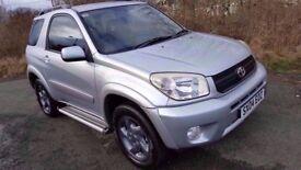 STUNNING! Toyota Rav 4 VVTi 4x4 **12 MONTHS MOT**F.S.H**TOWBAR*IMMACULATE THROUGHOUT*Part-Ex Welcome