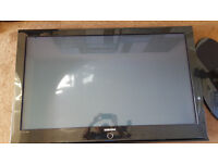 "Samsung 50"" Plasma TV. Faulty, sound but no display PS-50Q96HD"