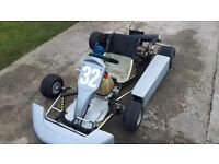 Tkm 115cc 2 stroke extreme go kart fast good working order no faults looking for quick sale 300