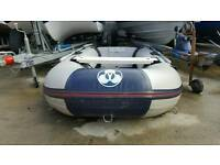 Yamaha 2.75 meter rubber boat with 4hp evinrude