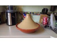 Large tagine ovenproof pot