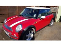 Mini Cooper 1.6l 53 Plate 96k Miles 2 Lady Owners since new Mot to End of April