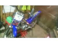 2003 2.5 sherco trials bike