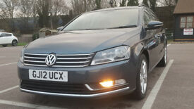 2012 Vw Passat 2.0 TDI SE BLUEMOTION TECH,Full Main Dealer,History Cam belt done