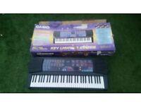 Casio CTK-560L Key Lighting System Electronic Keyboard Light Up 61 Keys