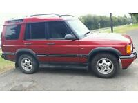 Landrover discovery 2 td5 145000 miles 02 plate