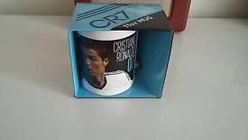 Christiane ronaldo cr7 mug all new 2 pound each or 3 for £5.00