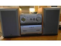 Sony Stereo with Eltax Speakers Mint Condition Amazing Sound Quality
