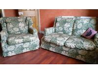 Free- small sofa and armchair