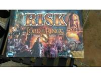 Risk Lord of the Rings Trilogy Edition.