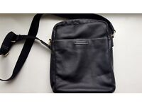 Marshall Bergman Corbin Leather Bag ( Black)