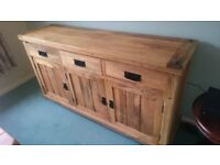 Solid Mango Wood (Light Colour) Sideboard