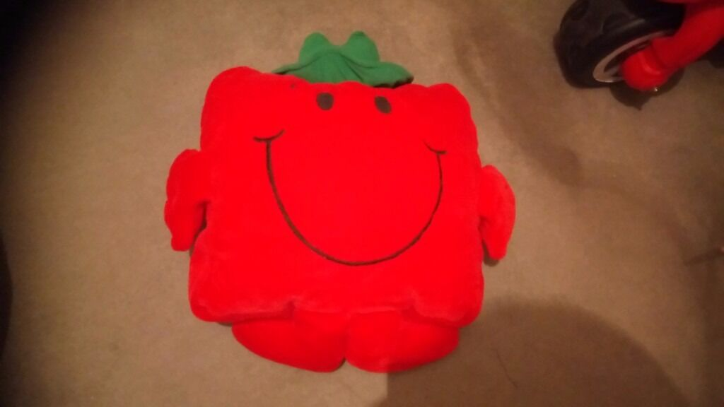 Mr men Teddy and puzzlein Fareham, HampshireGumtree - Mr men big red Teddy in good condition no longer need it now £5 Mr men puzzle new never been open £5 Little Mr men Teddy all In good condition no longer need them now £1.50 each
