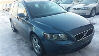 2005 Volvo V50 AWD / WAGON / FAMILLIALE / 6 VITESSES
