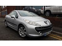 2008 Peugeot 207 CC 1.6 16v Sport 2dr Convertible, Nice Clean Car, MOT Till May 2017 £1995