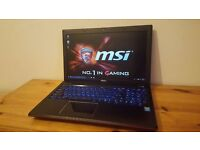 MSI GE60 Gaming Laptop, Intel i7 4700MQ, 16GB Corsair Vengeance, GTX 765M, 120GB SSD, 1TB HDD