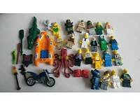 80+ Lego Minifigures, Nexo Knights sets and loads of spares