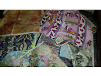 FABRIC/MATERIAL 100'S OF PIECES