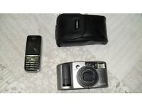Camera Minolta 140EX Freedom Zoome Panorama Passive AF As new condition. Can post.
