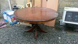Round dining table needs tlc