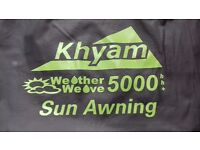 Khyam Weather Weave 5000 Sun awning (for large tunnel style tents)