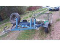 3 bike trailer £150