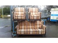 sofa 3 seater 2 chairs