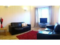 Spacious 1 bedroom - Furnished top foor flat - Southside